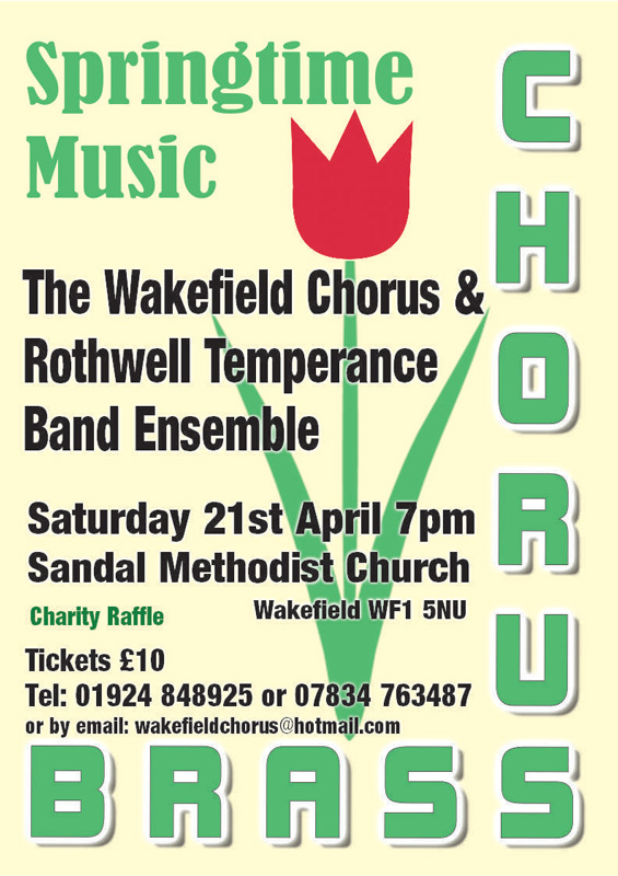 Chorus & Brass Poster