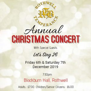 blackburn hall concert ticket cover 2019