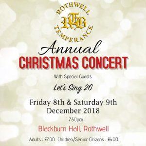 blackburn hall concert ticket cover
