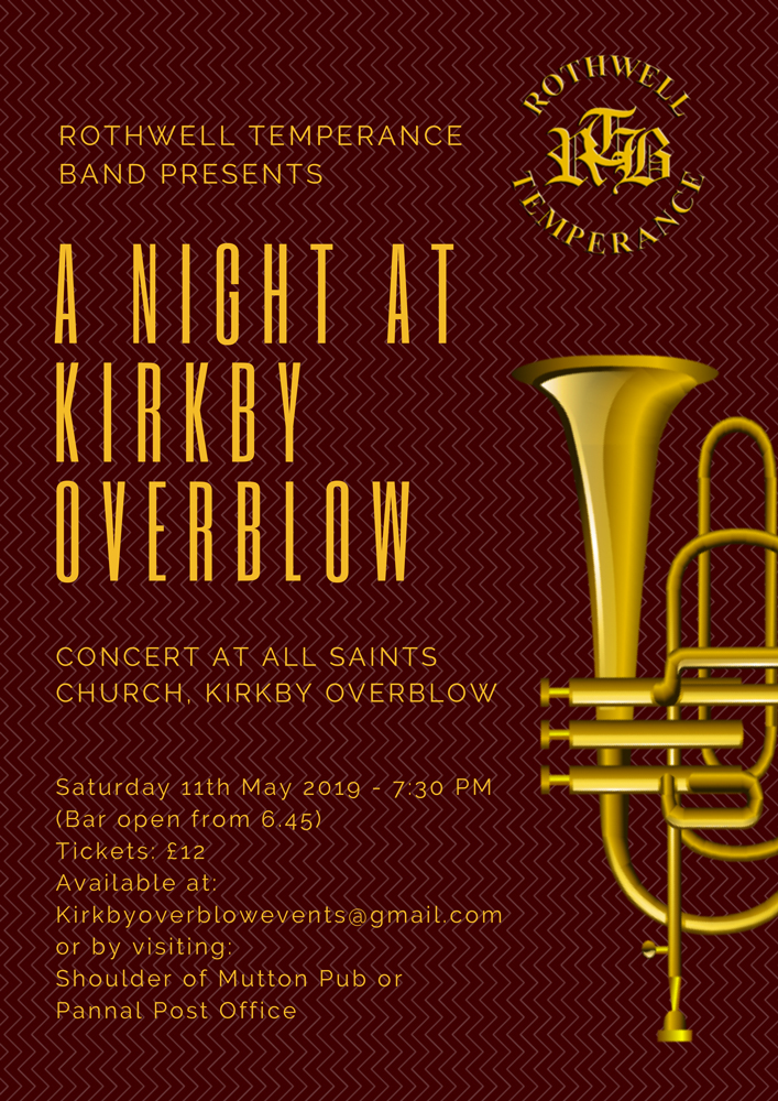 Kirkby Overblow concert