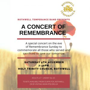 remembrance ticket cover